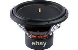 Memphis Mojo 612d4 12 Sub 3000w Dual 4-ohm Car Audio Subwoofer Bass Speaker New