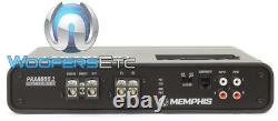 Memphis Prxa600.1 Monoblock 1200w Max Subwoofers Speakers Bass Car Amplifier New