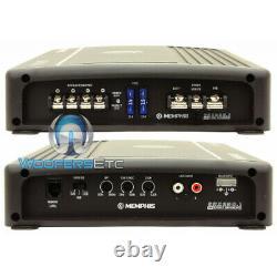 Memphis Srx250.1 Amp Monoblock 500w Subwoofers Speakers Bass 2 Ohm Amplifier New
