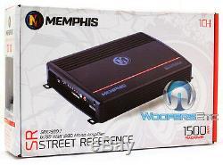 Memphis Srx750d. 1 Amp Monoblock 1500w Max Subwoofers Speakers Bass Amplifier New
