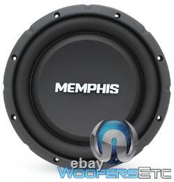 Memphis Srxs1040 10 500w Single 4-ohm Shallow Thin Subwoofer Bass Speaker New
