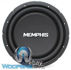 Memphis Srxs1240 12 500w Single 4-ohm Shallow Thin Subwoofer Bass Speaker New