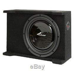 NEW 12 Shallow Mount Subwoofer Bass Speaker. Box Enclosure. Car Audio. Sub. Slim
