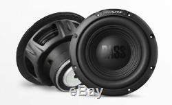 NEW (2) 10 Alpine SVC Subwoofer Bass. Replacement. Speakers. 4 ohm. Car Audio. PAIR