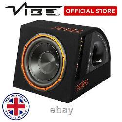 NEW Edge 12 900w Peak BASS Car Audio Sub Speaker Active Subwoofer Enclosure