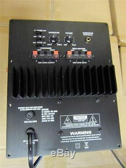NEW Mega Bass Subwoofer Speaker Plate Amplifier. 100w RMS. Home Audio Sub AMP