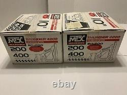NEW Pair MTX Audio Thunder 4000 Subwoofer Speakers