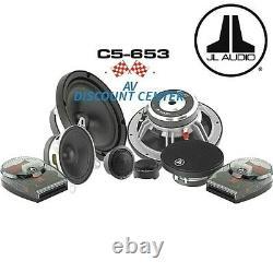 New Jl Audio C5-653 Evolution 6.5 3-way Component Speakers Set