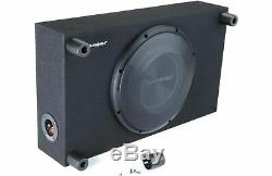 Pioneer Ts-a3000lb 12 1500w Subwoofer Bass Speaker Shallow Truck Box Enclosure