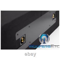 Pkg 2 ALPINE R-SB12V HALO 12 SUBWOOFERS BASS SPEAKERS PORTED BOX + KTX-H12 NEW