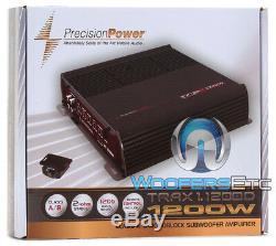 Pkg 2 MEMPHIS PR15S4V2 15 SUBWOOFERS BASS SPEAKERS + PPI TRAX1.1200D AMPLIFIER