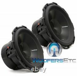 Pkg 2 ROCKFORD FOSGATE P3D4-12 SUBWOOFERS BASS SPEAKERS+ R2-1200X1 AMPLIFIER NEW
