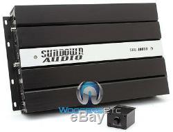 Pkg (2) SUNDOWN AUDIO E12 V3 D4 12 500W SUBWOOFERS + SAE-1000D V2 AMPLIFIER NEW