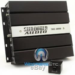Pkg SUNDOWN AUDIO SAE-600D AMPLIFIER + E-12V. 3 D2 12 SUBWOOFER BASS SPEAKER NEW