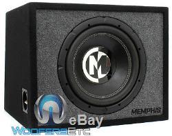 Pkg ZED AUDIO MIKRO MONOBLOCK AMP + MEMPHIS PRXE12S 12 SUBWOOFER SPEAKER & BOX