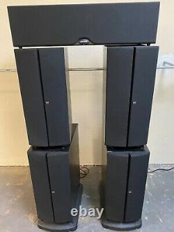 Polk Audio Speakers SRT Superior Towers pair Subwoofer & Center Chanel S FL