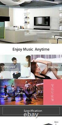 Portable Home Theater HIFI Wireless Speakers Sound Bar FM Radio USB Subwoofer