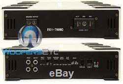Power Acoustik Eg1-7000d Pro Monoblock 7,000w Subwoofer Bass Speakers Amplifier