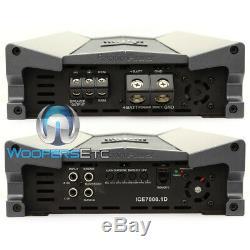 Precision Power Ice7000.1d Monoblock 7000w Subwoofers Speakers Bass Amplifier