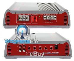 Precision Power Trax1.2000d Monoblock 2000w Subwoofers Speakers 2 Ohm Amplifier