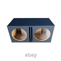 Pro Dual 12 Ported Subwoofer Enclosure Car Audio Speaker Box All Mdf