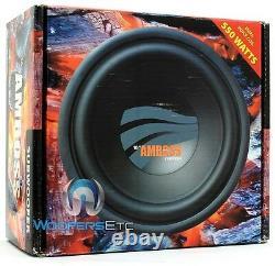 Rainbow 10 Amboss Bass Pro Subwoofer Speaker DVC German Made Car Audio Sub New
