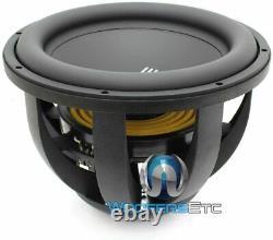 Re Audio Mx15 V2 D1 Sub 15 Dual 1 Ohm 3400w Max Subwoofer Bass Car Speaker New