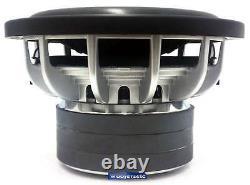 Re Audio Sx10d4 10 2000w Power Sub Dual 4 Ohm Speaker Super Bass Subwoofer New