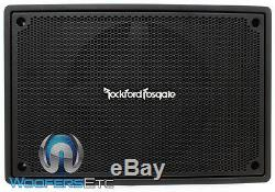 Rockford Fosgate Ps-8 8 Compact Powered Enclosed Subwoofer Speaker Amplifier