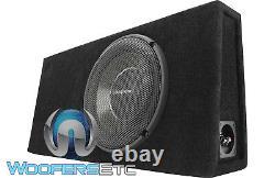 Rockford Fosgate T1s-1x12 Power 1-ohm 12 1200w Subwoofer Bass Speaker & Box New