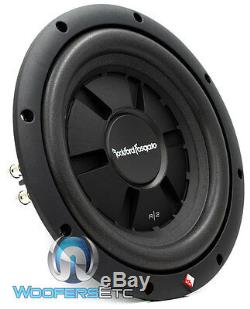 Rockford R2sd4-10 Fosgate 10 Sub Dual 4-ohm Shallow Slim Subwoofer Speaker New