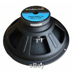 STARAUDIO 2500W 8 Ohm 15 Speaker Subwoofer Replacement Home Audio Woofer Bass