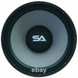 Seismic Audio 18 Raw Subwoofers Woofers Speakers 120 oz Magnet 1000W