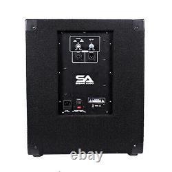 Seismic Audio Powered 12 Pro Audio Subwoofer Cabinet PA / Band / DJ / KJ