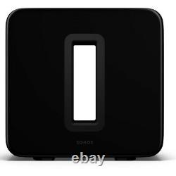 Sonos Surround Set with Arc Dolby Atmos Sound Bar, Subwoofer, & One SL Speakers