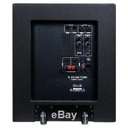 Sound Town CARPO Column Speaker Subwoofer Mini Line Array System (CARPO-V415SPW)