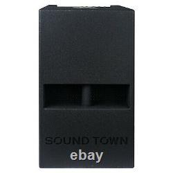 Sound Town Power Subwoofer and Column Speaker Line Array System (CARPO-V5B12)