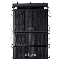 Sound Town ZETHUS-115SPW208 Line Array 15 Powered Subwoofer 2xDual 8 Speaker