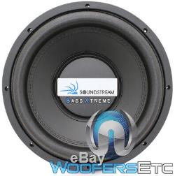 Soundstream Bxw124 12 Sub 2400w Dual 4-ohm Subwoofer Bass Speaker Car Audio New