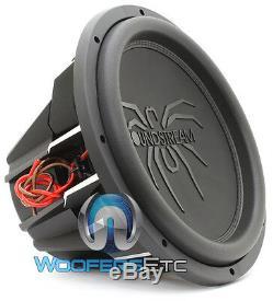 Soundstream T5.152 15 Tarantula 2600w Max Dual 2-ohm Subwoofer Bass Speaker New