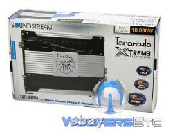 Soundstream Txp1.18000d Monoblock 18,000w Subwoofers Speakers Bass Amplifier New