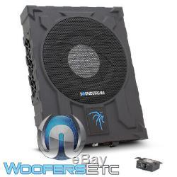Soundstream Usb-10p 10 1000w Under Seat Subwoofer Bass Speaker Amplifier New
