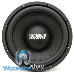Sundown Audio E-10 D2 V4 10 500w Rms Sub Dual 2-ohm Subwoofer Bass Speaker New
