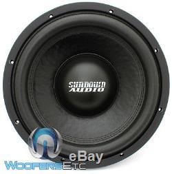 Sundown Audio E-12 V. 3 D4 12 500w Rms Dual 4-ohm Car Subwoofer Bass Speaker New