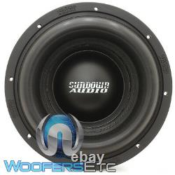 Sundown Audio Ns-10 V. 4 10 D1 Nightshade 2500w Rms Dual 1-ohm Subwoofer New