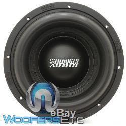 Sundown Audio Ns-10 V. 4 10 D2 Nightshade 2500w Rms Dual 2-ohm Subwoofer New
