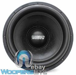 Sundown Audio Ns-18 V. 4 D1 18 Nightshade 2500w Rms Dual 1-ohm Subwoofer New