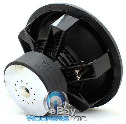 Sundown Audio X-18 V. 2 D4 Pro 18 Dual 4-ohm 1500w Rms Bass Subwoofer Speaker