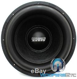 Pair Sundown Audio X-15 v.2 D2-15 1500W RMS Dual 2-Ohm X-Series Subwoofer