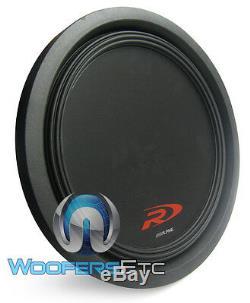 Swr-t12 Alpine Type-r 12 Shallow Subwoofer Slim Sub Car Audio Bass Speaker New